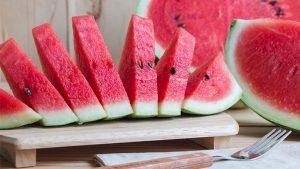 ข้อมูลโภชนาการแตงโมและประโยชน์ต่อสุขภาพ